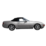 Porsche 944-968 Convertible Top Replacement - Black German Classic