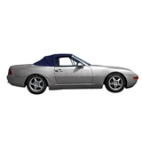 Porsche 944 & 968 Convertible Top Replacement w/ Plastic Window - Blue