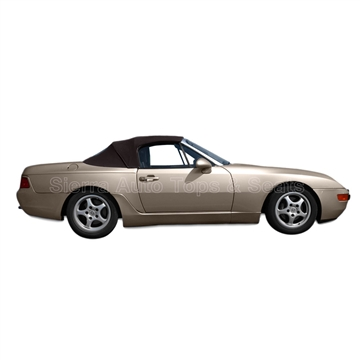 Porsche 994-968 Convertible Top | Brown Twillfast II Cloth