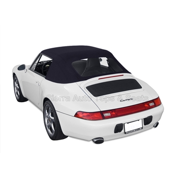 Porsche 993 Carrer 1995-1998 Convertible Soft Top: Black