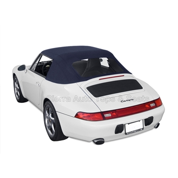 Porsche 993 Carrer 1995-1998 Convertible Soft Top: Blue