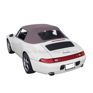 Porsche 993 Carrera Convertible Top & Window | Graphite Grey
