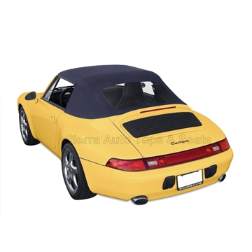 Porsche 993 Carrera Blue Convertible Top