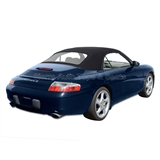 Replacement 1998-2001 Porsche 996 Carrera Black Convertible Top