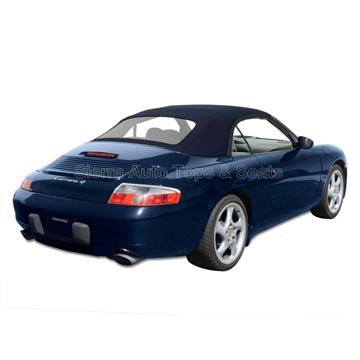 1998-2001 Porsche 996 Carrera Metropol Blue Convertible Top