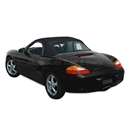Porsche Boxster Soft Convertible Top & Window | Black