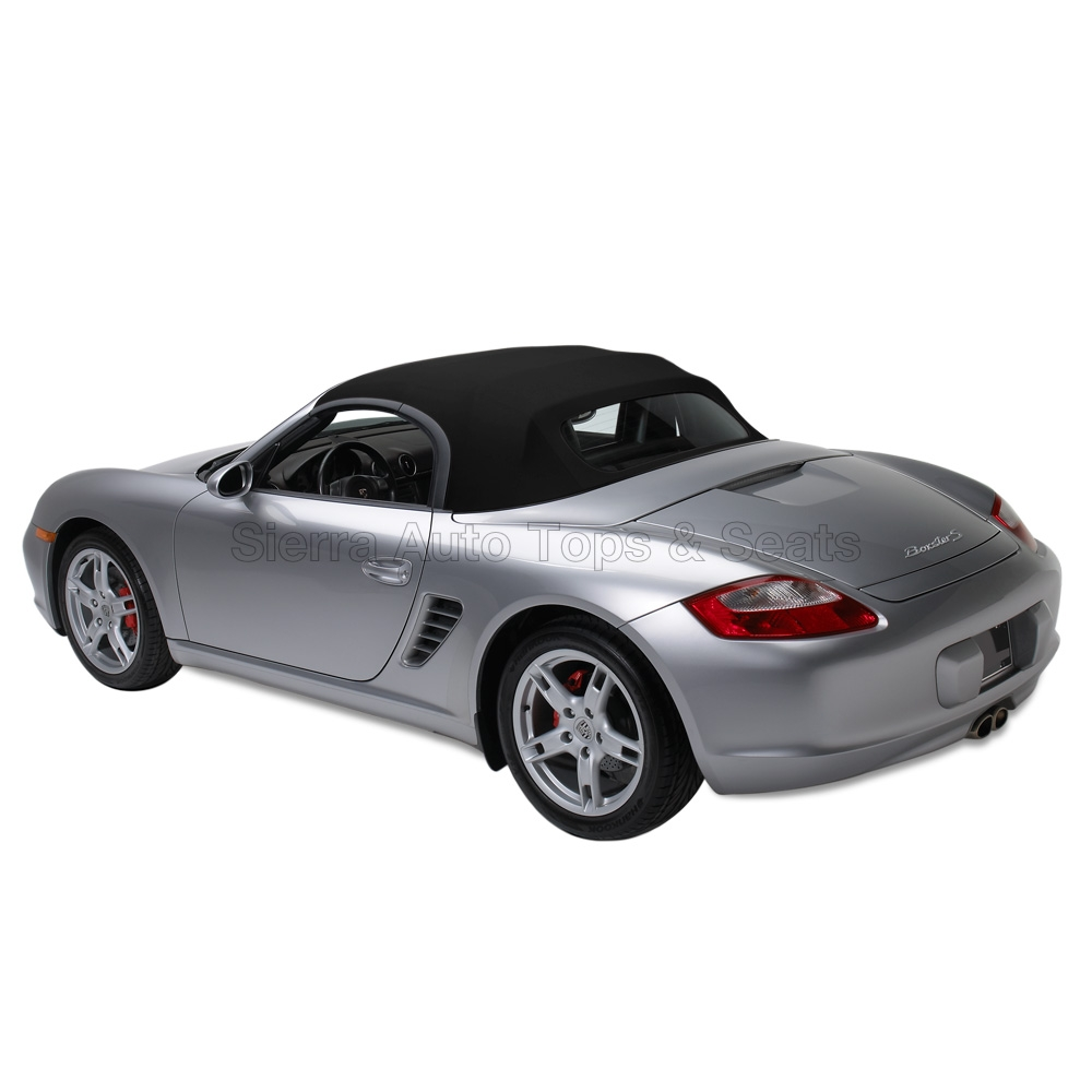 Porsche Convertible Top 1997 2002 Boxster German A5 Canvas Black
