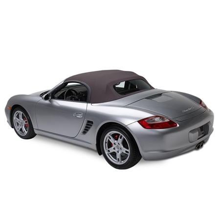 Porsche Boxster Convertible Soft Top w/ Glass Window - Space Gray