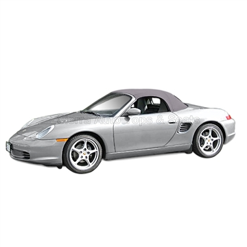 Porsche Boxster Convertible Top Replacement with Window, Graphite Gray