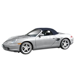 Porsche Boxster Convertible Top Replacement with Window, Metropol Blue