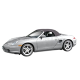 Porsche Boxster Convertible Top w/ Glass Window: Space Grey