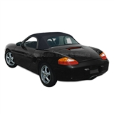 Porsche Boxster Convertible Soft Top w/ Plastic Window - Black