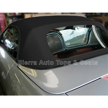 Porsche Boxster Convertible Top & Window | Black Stayfast