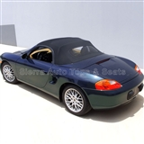 Porsche Boxster Stayfast Cloth Convertible Soft Top | Black