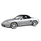 Porsche Boxster 2003-04 Convertible Top & Window | Black