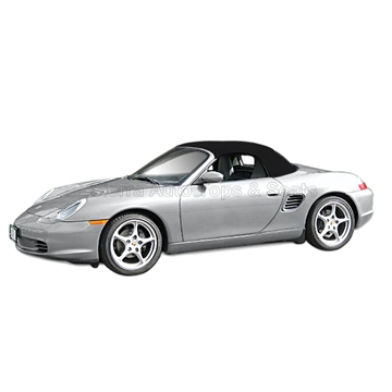 Porsche Boxster 2003-04 Convertible Top & Window - Black
