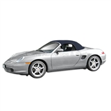 Porsche Boxster Stayfast Convertible Top with Window: Blue