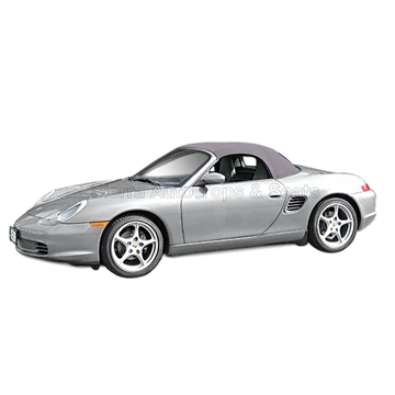 Porsche Boxster Stayfast Convertible Top & Rear Window: Gray