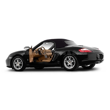 Porsche Boxster Stayfast Convertible Top: 2005-2011 - Gray