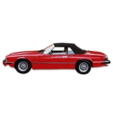 Jaguar XJS Convertible Soft Top - Black TwillFast Canvas
