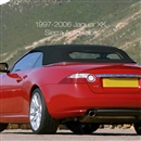Jaguar XK8/XKR 1997-2002 Convertible Top - Black Twillfast II