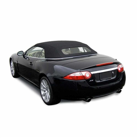Jaguar Convertible Top 2007-15 XK/XKR Twillfast RPC Canvas, Black