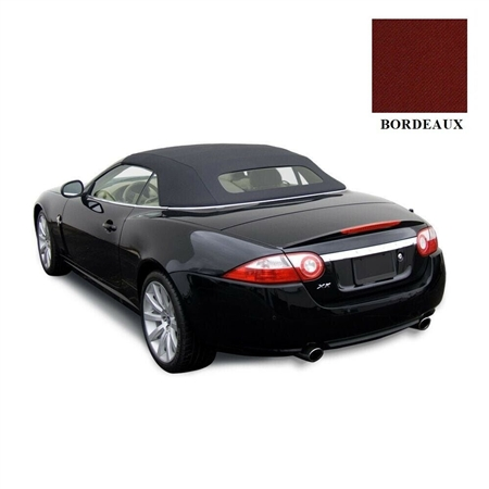 Jaguar XK/XKR Bordeaux Twillfast Convertible Top Replacement -2010-2017