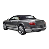 Bentley Convertible Top 2007-10 TwillFast RPC Canvas, Black