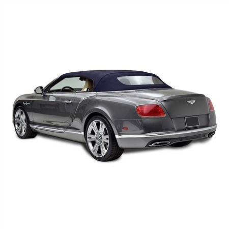 Bentley Convertible Top 2007-10 TwillFast RPC Canvas, Blue