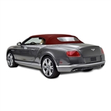 Bentley 2007-2010 Convertible Top - Bordeaux Twillfast RPC