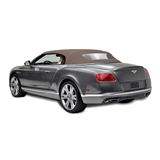 Bentley Convertible Top 2007-10 TwillFast RPC Canvas, Beige