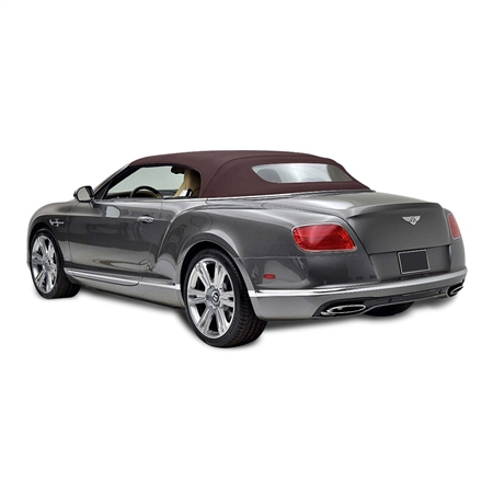 Bentley 2007-2010 Convertible Replacement Top, Brown Twillfast RPC | Auto Tops Direct