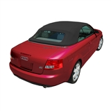 Replacement 2003-2009 Audi A4 Convertible Top - Black German A5