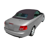 Audi A4 2003-2009 Convertible Top w/ Glass Window - Blue