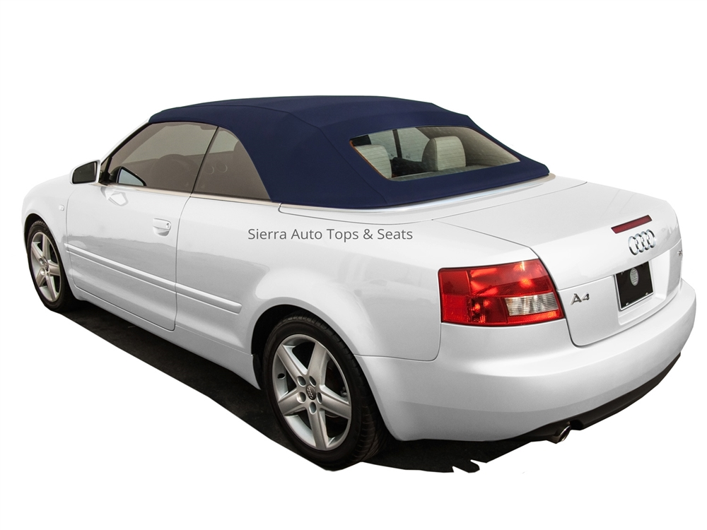 2003 2009 Audi A4 S4 Blue Convertible Top