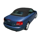 Black 2003-2009 Audi A4/S5 Convertible Replacement Top