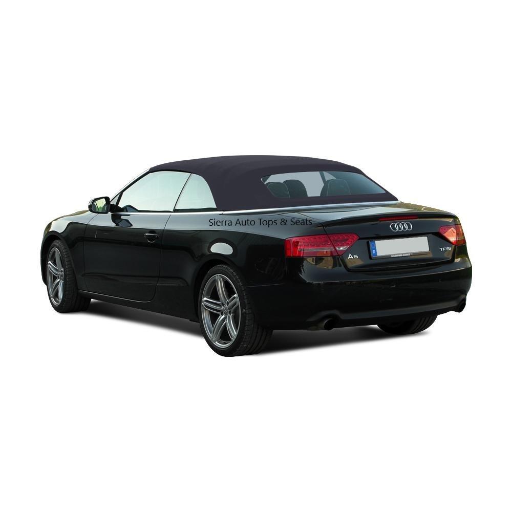 Audi A5 Convertible Dubai: Audi A5 Black Twillfast Convertible Top