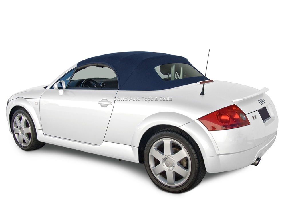 Audi TT Convertible Top Back Window Blue Twillfast RPC - 2006 audi tt
