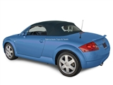 Audi TT 2000-2006 Replacement Convertible Top & Glass Window - Black