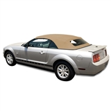 Ford Mustang 2005-14 Convertible Top - Tan/Beige Stayfast Cloth
