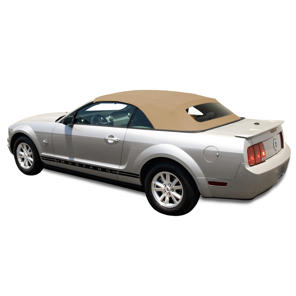 Ford Mustang 2005-14 Convertible Top | Tan/Beige Stayfast Cloth