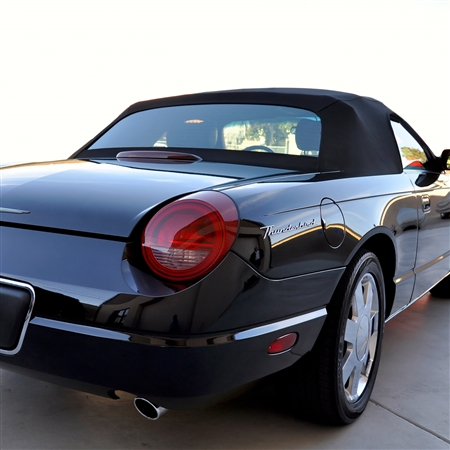 Black Convertible Soft Top for Ford Thunderbird