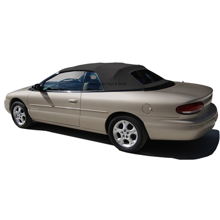 Chrysler Sebring Convertible Top - Black Twillfast & Glass Window