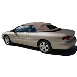 Chrysler Sebring Convertible Top - Beige Twillfast & Glass Window