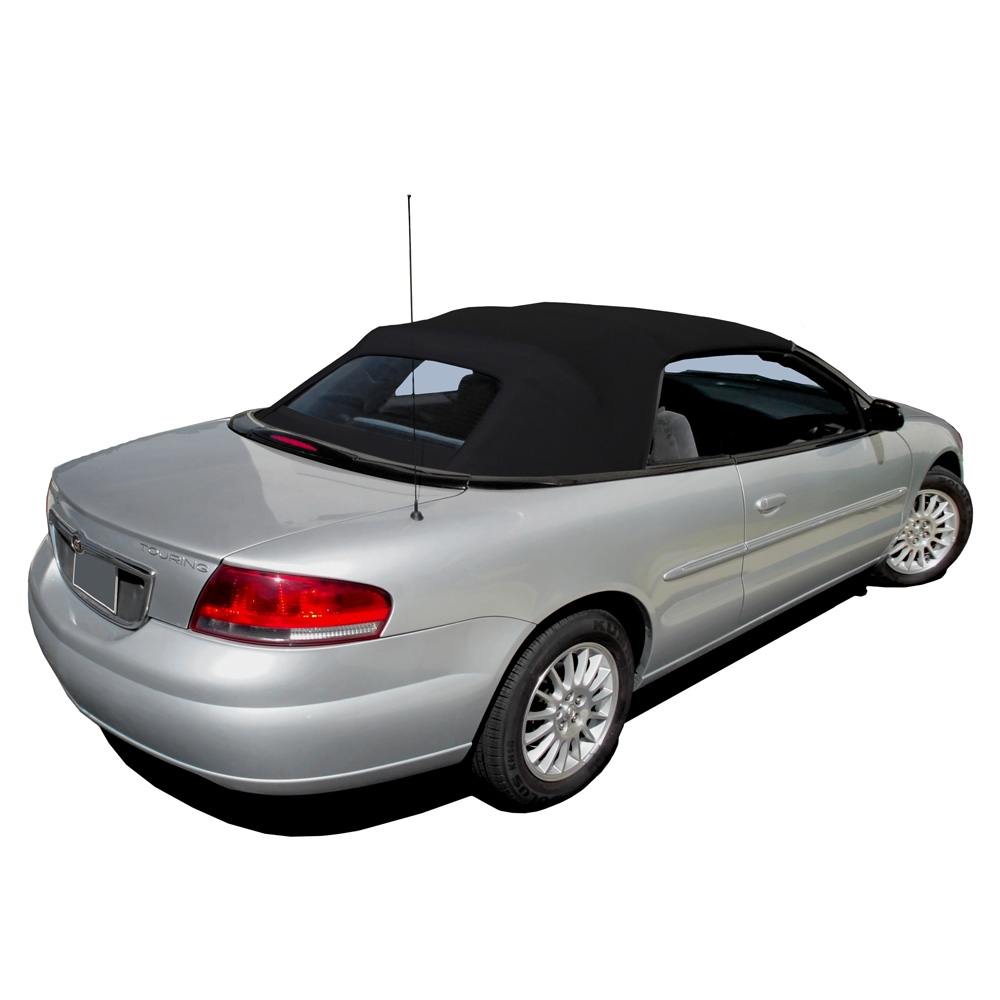 2001-2006 Chrysler Sebring Black Convertible Top
