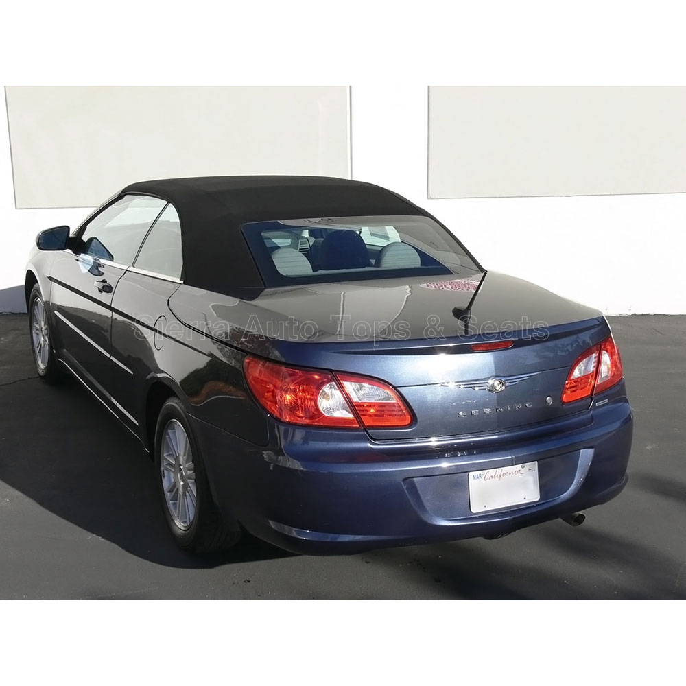 Chrysler Sebring & 200 Twillfast RPC Convertible Top: Black