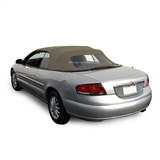 Chrysler Sebring Convertible Soft Top - Sandalwood Sailcloth