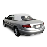 Convertible Soft Top for Chrysler Sebring in White Sailcloth Vinyl