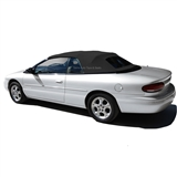 1996-2000 Chrysler Sebring Convertible Tops, Black Sailcloth Vinyl | Auto Tops Direct