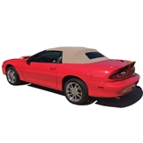 Replacement Chevy Camaro Convertible Tops: 1994-2002 - Parchment